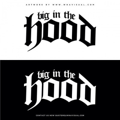 Big In The Hood Snapback Logo