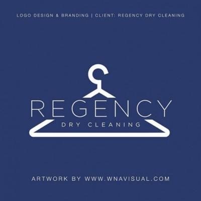 Regency Dry Cleaning Logo & Branding