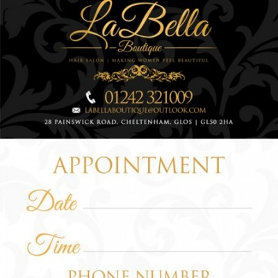 LaBella Business Card