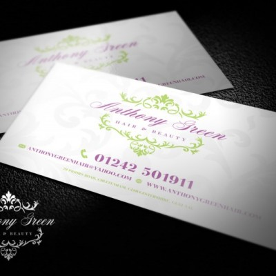 Business Card Anthony Green